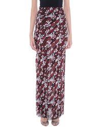 Giamba Long Skirt - Purple
