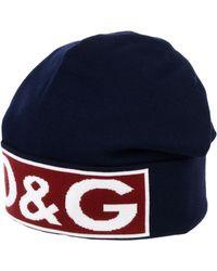 Dolce & Gabbana Chapeau - Bleu