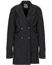 History Repeats Suit Jacket - Grey