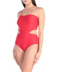 ..,merci One-piece Swimsuit - Red