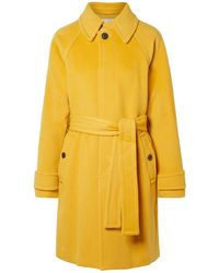 Diane von Furstenberg Coat - Yellow
