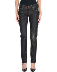 Nudie Jeans Denim Trousers - Black