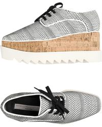 Stella McCartney Zapatos de cordones - Blanco
