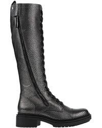 Bikkembergs Knee Boots - Black