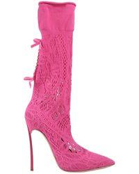 Casadei Boots - Pink