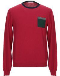 Sun 68 Pullover - Rosso