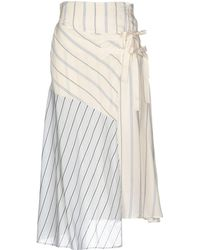 MAX&Co. - 3/4 Length Skirt - Lyst
