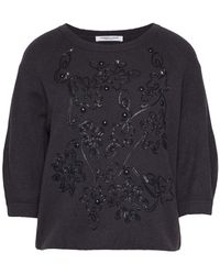 Lamberto Losani Sweater - Gray