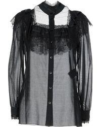 Saint Laurent - Shirts - Lyst
