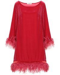Charlott Short Dress - Red
