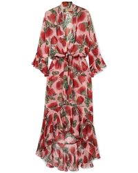 Adriana Degreas Long Dress - Pink