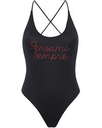 Giada Benincasa One-piece Swimsuit - Black