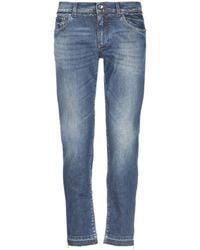 Dolce & Gabbana Pantalon en jean - Bleu