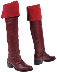 Rodolphe Menudier Boots - Red