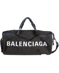 Balenciaga Travel Duffel Bags - Black