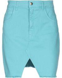 KATE BY LALTRAMODA Mini Skirt - Blue