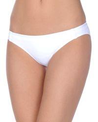 Beth Richards Partes de abajo de bikini - Blanco