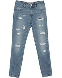 Blugirl Blumarine Denim Trousers - Blue