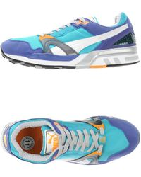 PUMA Low-tops & Trainers - Blue