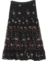 Tory Burch 3/4 Length Skirt - Black