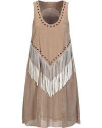 DROMe Short Dress - Multicolor