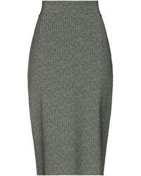 La Petite Robe Di Chiara Boni Midi-Rock - Grün