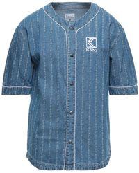 Karlkani Denim Shirt - Blue