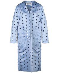 Caban Romantic Overcoat - Blue