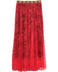 Shirtaporter Long Skirt - Red