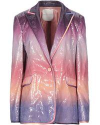 Marco De Vincenzo Suit Jacket - Purple