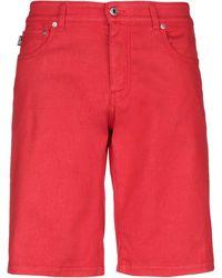 Love Moschino Bermuda Shorts - Red