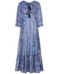 Anjuna Midi Dress - Blue