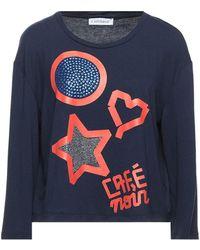CafeNoir T-shirts - Blau