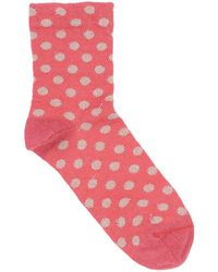 Alto Milano Short Socks - Red