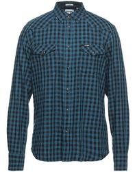 Wrangler Camisa - Azul