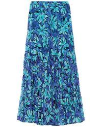 Michael Kors Long Skirt - Blue