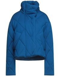 Cedric Charlier Down Jacket - Blue