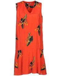 Cacharel | Flower Print Shift Dress | Lyst