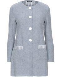 Anneclaire Suit Jacket - Blue