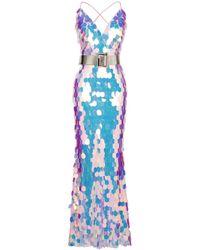Forever Unique Long Dress - Blue