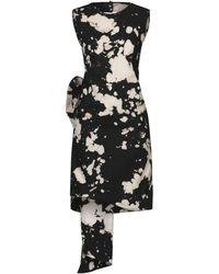 N°21 Knee-length Dress - Black