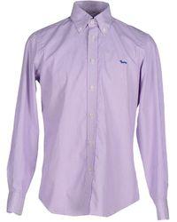 Harmont & Blaine Shirt - Purple