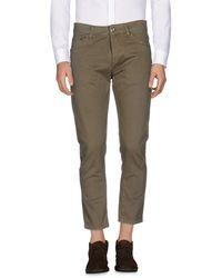 Low Brand Pantalon - Vert