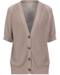 Cappellini By Peserico Cardigan - Natural