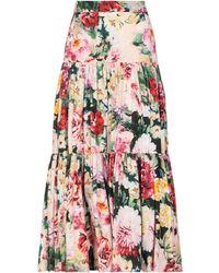 Dolce & Gabbana Long Skirt - Pink