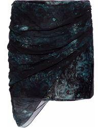 Haute Hippie Mini Skirt - Black