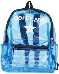 Odi Et Amo Backpack - Blue