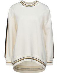 Ermanno Scervino Sweatshirt - Weiß