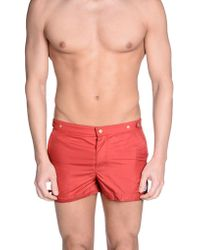 30f60539c3 On sale Robinson Les Bains - Swimming Trunk - Lyst