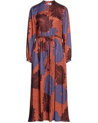 Niu Midi Dress - Blue